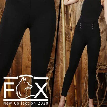 شلوار لگ زنانه لول 6 دکمه - کد F101
