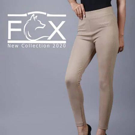 شلوار لگ زنانه جلو فیلتاب - کد F118