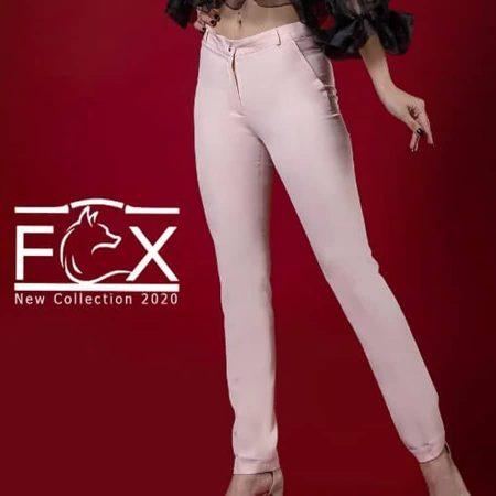 شلوار پارچه ای بوگاتی راسته کلاسیک زنانه - کد F122