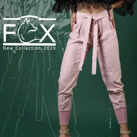 شلوار پارچه ای مام استایل زنانه - کد F114