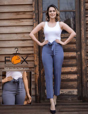 خرید شلوار کمر گن دار ( کمر هفتی ) در سایت فاکس